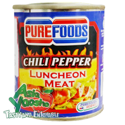 Purefoods Chili Pepper Luncheon Meat 215g