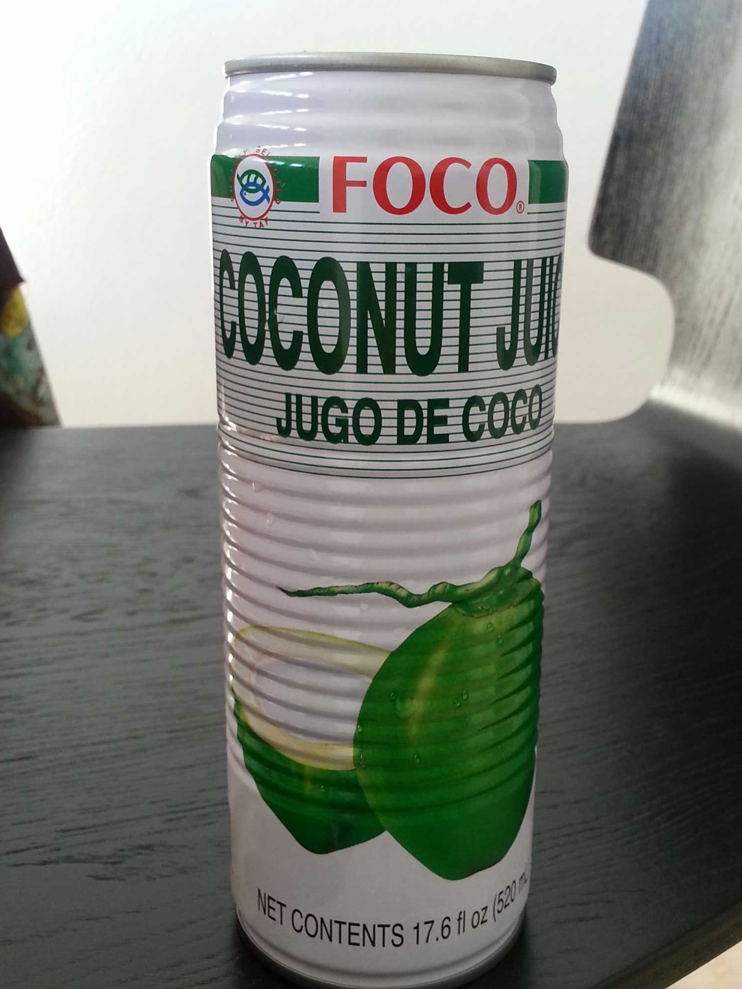 Foco Coconut Juice 520 ml