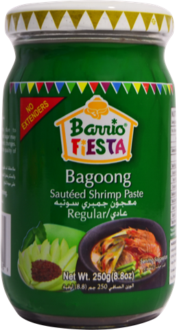 Barrio Fiesta Bagoong Regular (Small) 250g