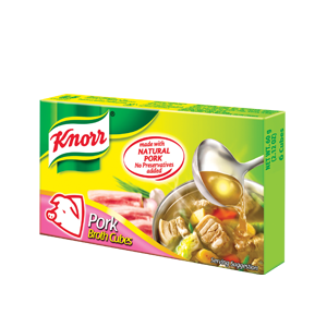 Knorr Pork Cubes (Large) 60g