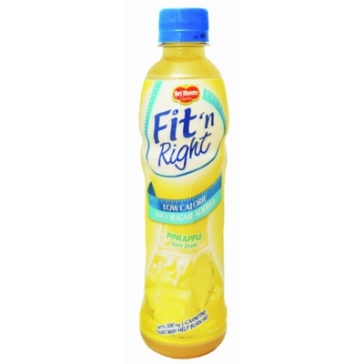 Del Monte Fit & Right Pineapple 330ml