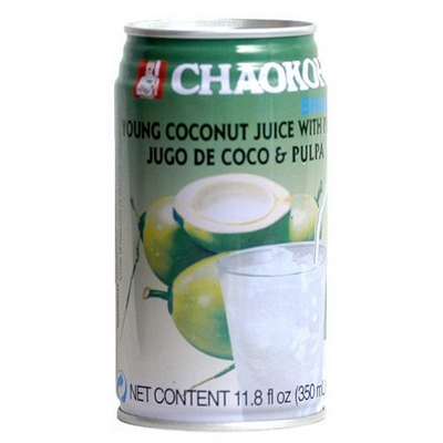Chaokoh Coconut Juice with Pulp 350ml