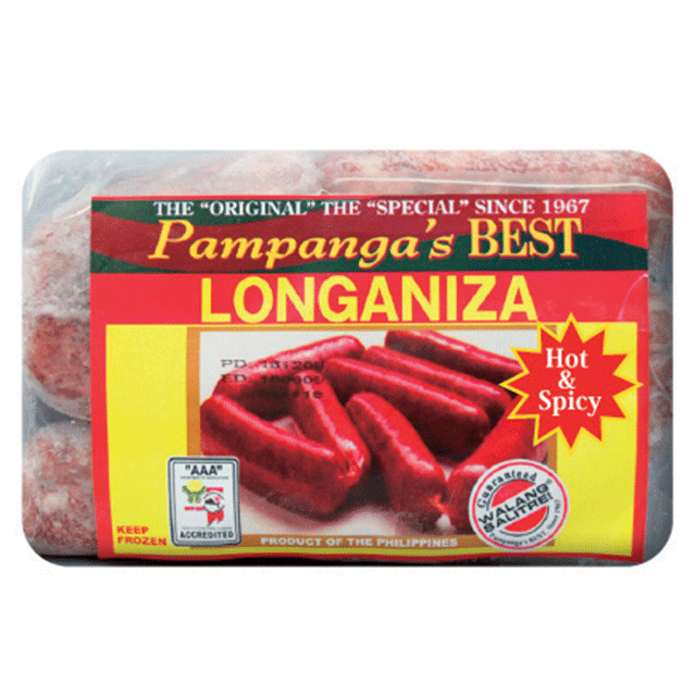 Pampanga's Style Native Longaniza Hot 300g