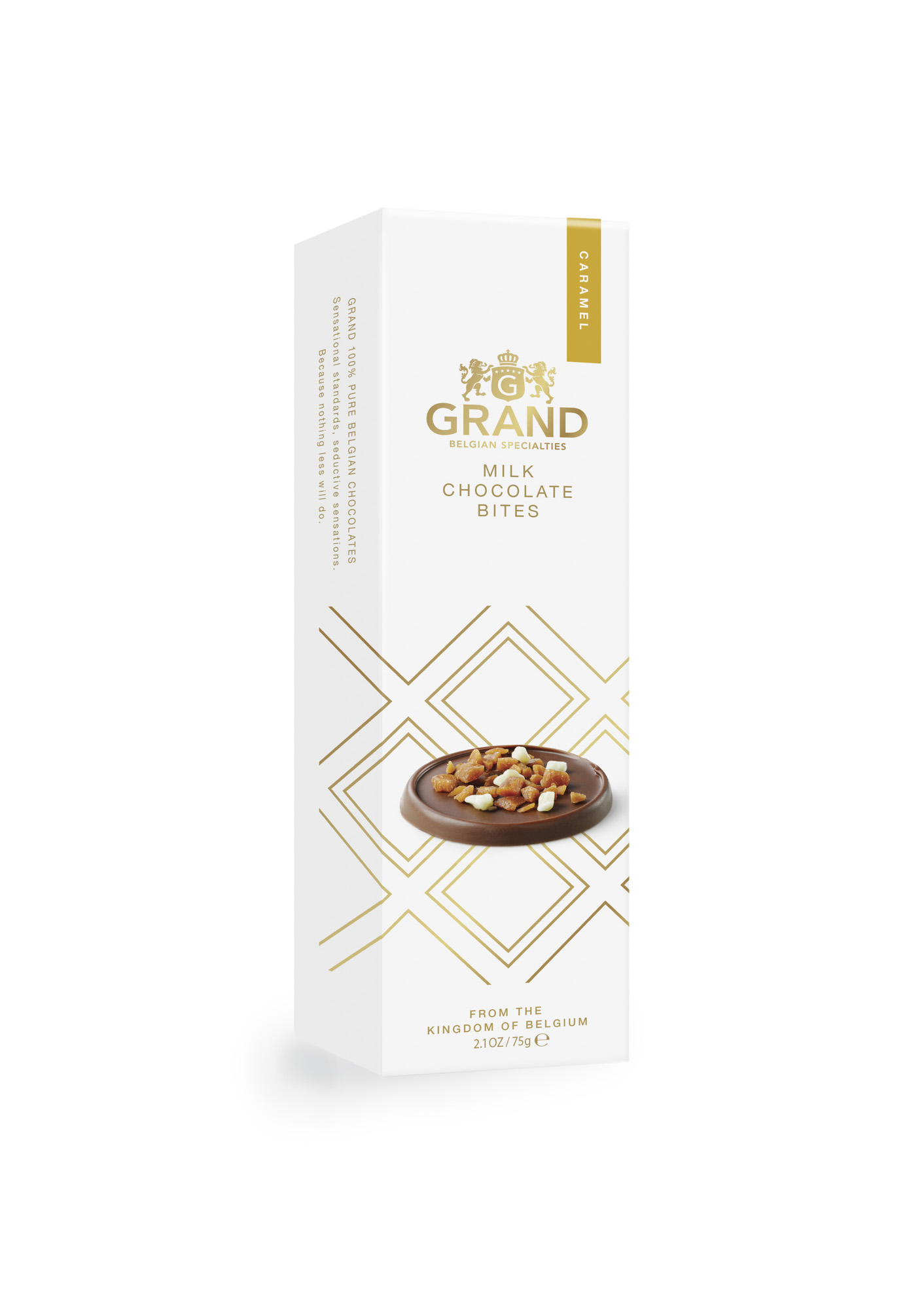 Grand Milk Chocolate Bites Caramel