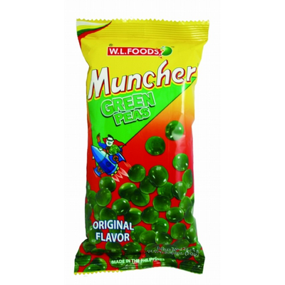 Muncher Green Peas Regular 70g