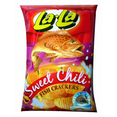 Lala Fish Crackers (Sweet Chili) 50g