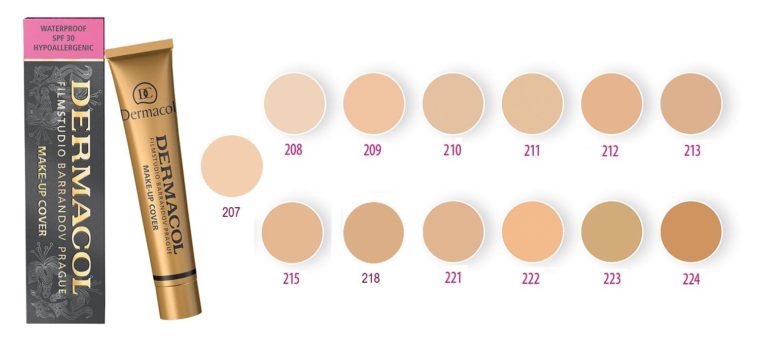 Dermacol Make Up Cover 30g shade 218