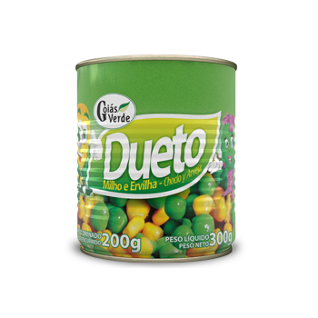 Goiás Verde Corn and Green Peas Mixed 300g
