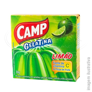 Camp Gelatin Lemon flavor