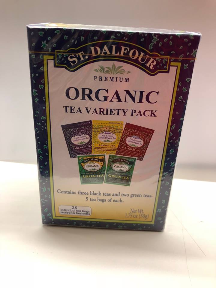 St. Dalfour Organic Tea Variety Pack